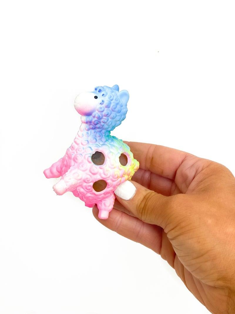 Squish Ball Alpaca