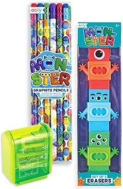 Monster Pencil Kit