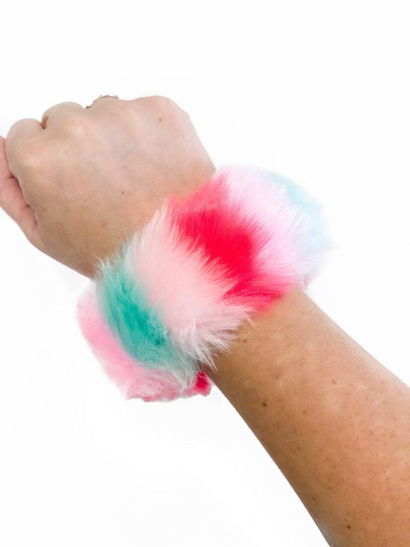Fuzzy Slap Bracelet