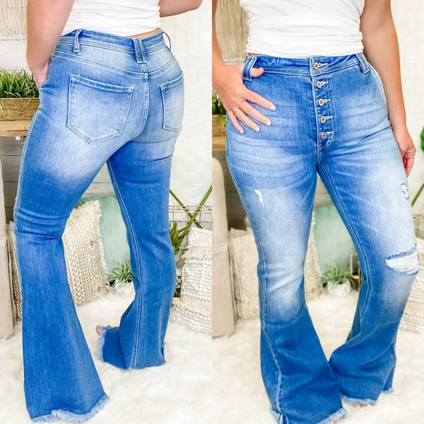 The Kacy Flare Jeans