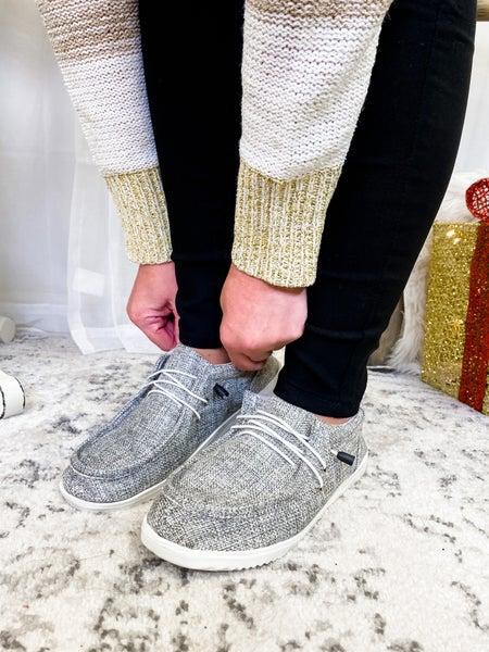 The Tabitha Slip On Grey