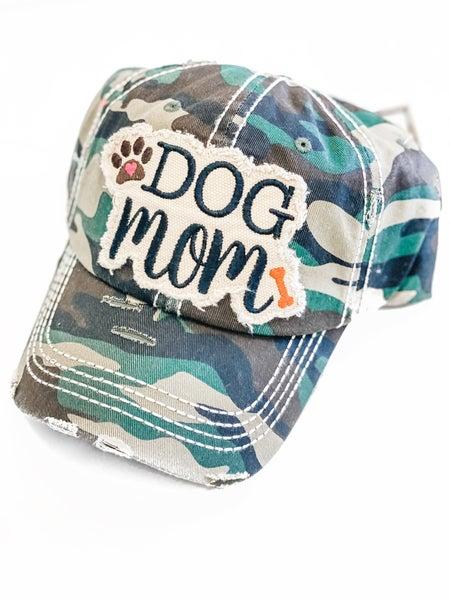 Camo Dog Mom Hat
