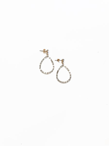 The Hayes Earrings Clear