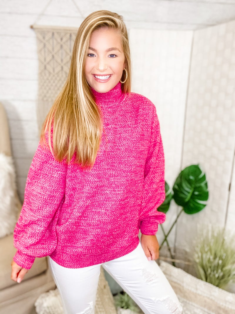 Wednesday Pink Sweater
