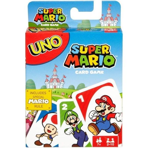 Mario Uno Cards
