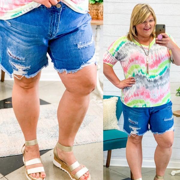 The Farley Shorts Plus Denim *Final Sale*