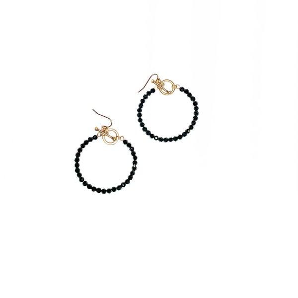 The Tabitha Earrings Black