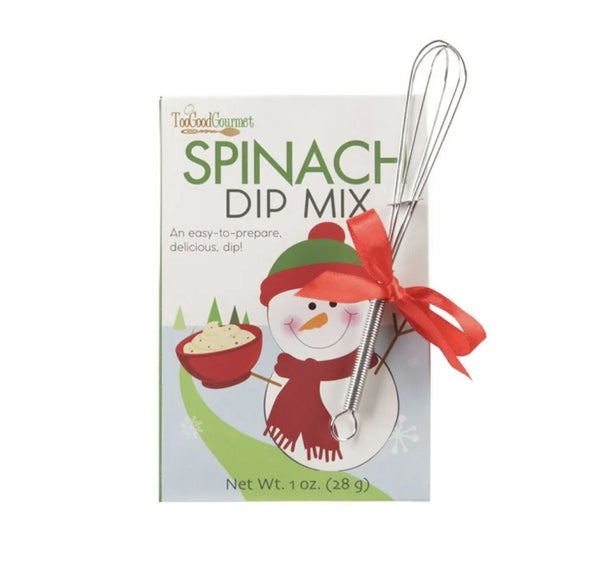 Spinach Holiday Dip Mix