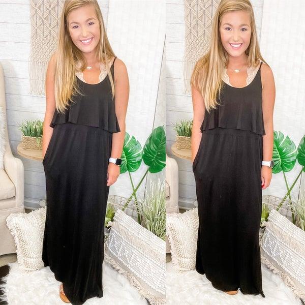 Stroll Along Maxi Dress *Final Sale*