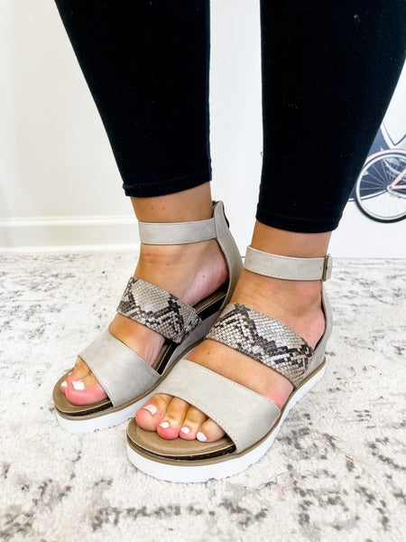 The Katie Wedge Silver