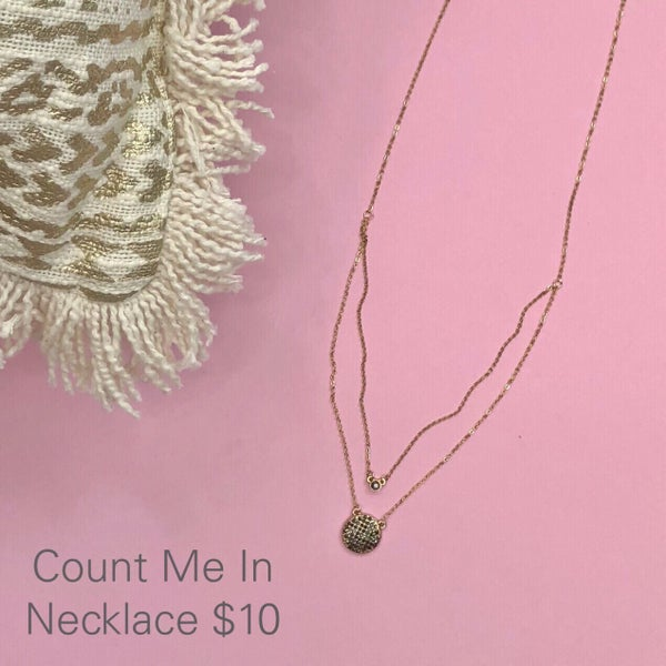 Count Me In Necklace