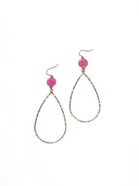 The Layla Earrings Pink