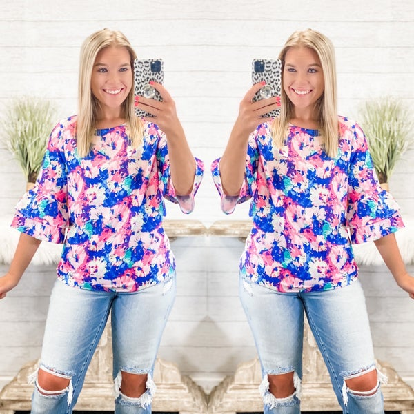 Such  A Sweetheart Top *Final Sale*