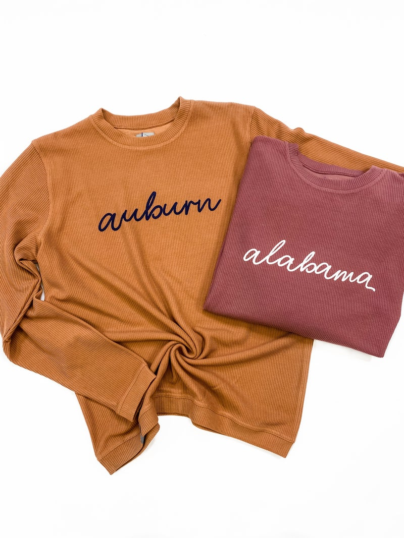 Ribbed Gameday Pullover