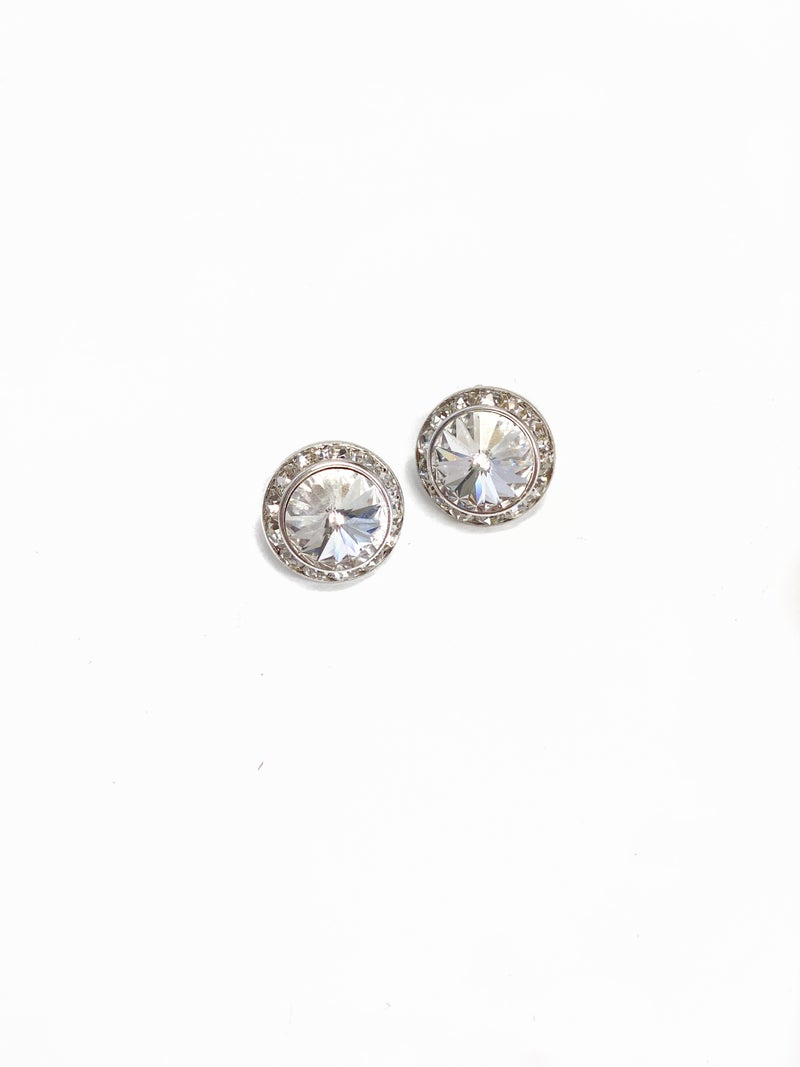The Candace Earrings Clear