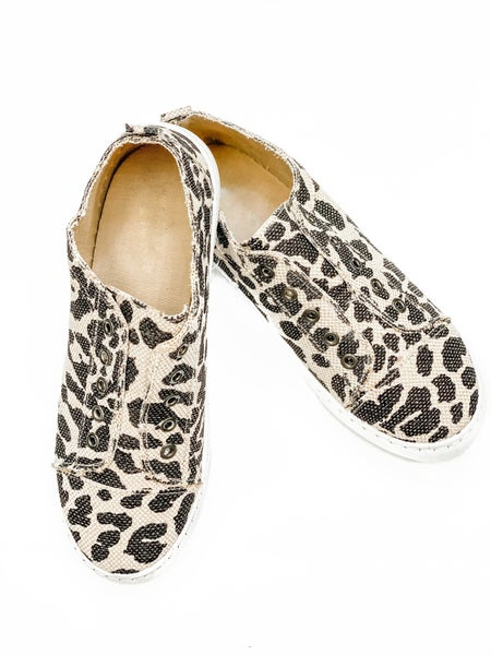 The Savannah Sneaker Leopard