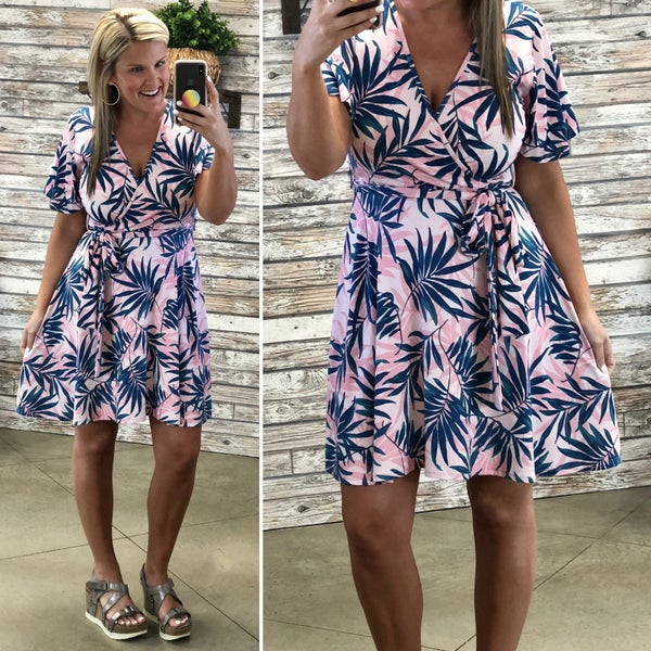 In The Tropics With You Dress-FINAL SALE *Final Sale*