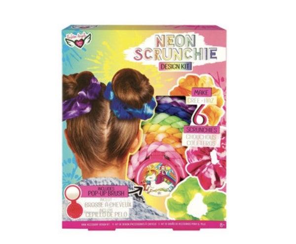 Neon Scrunchie Kit