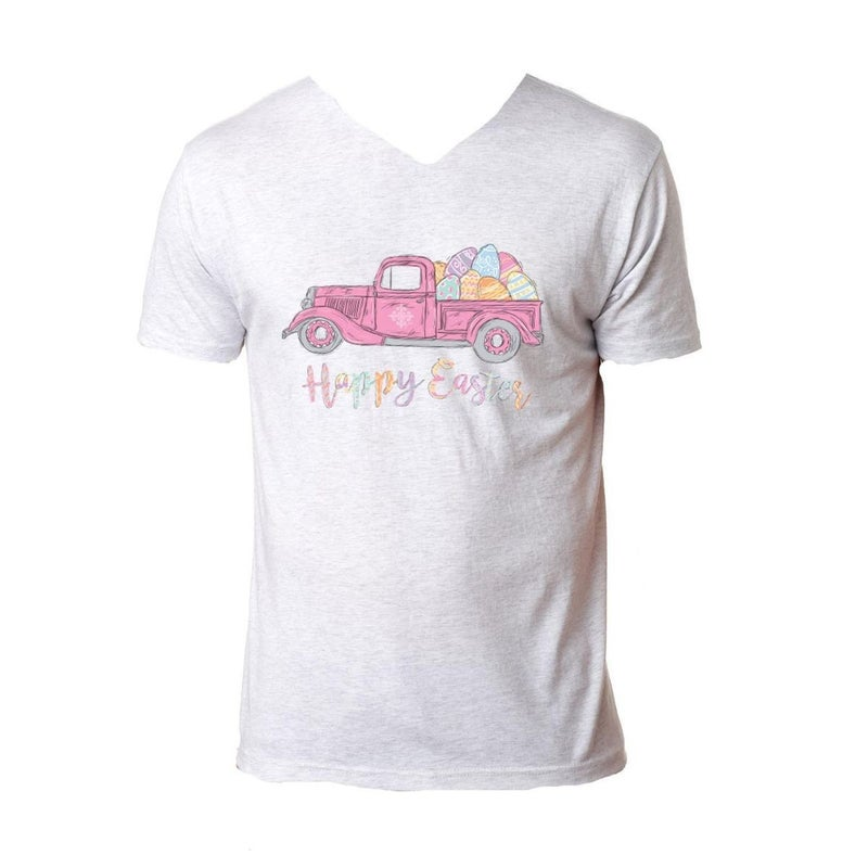 Happy Easter Truck Tee