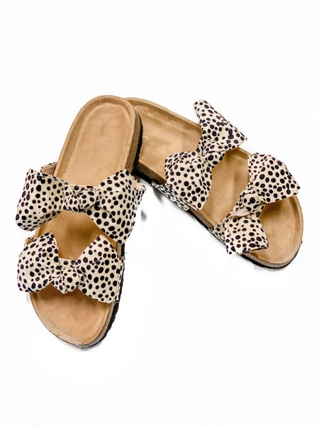 The Sophie Sandals Cheetah *Final Sale*