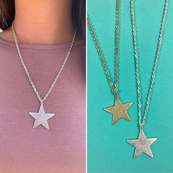 Start Something New Star Necklace