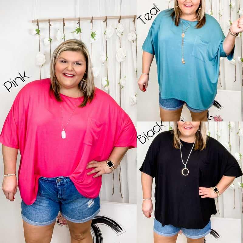Ready For The Weekend Top Plus *Final Sale*