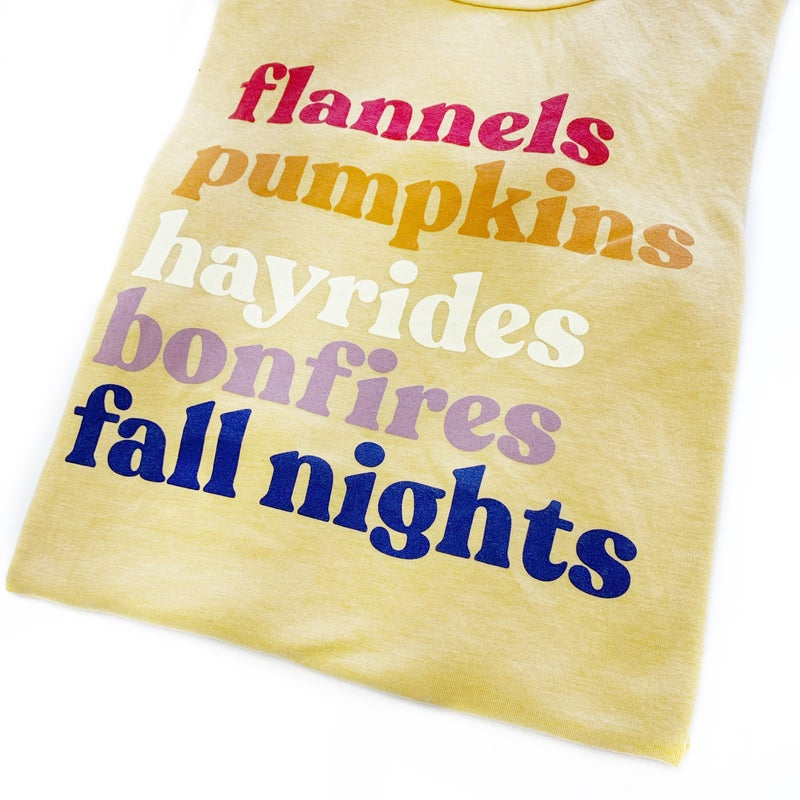 All About Fall Graphic Tee