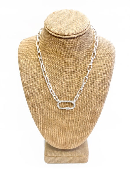The Kendra Necklace Silver