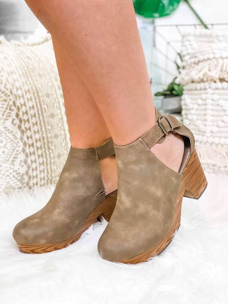 The Stella Wedge Taupe