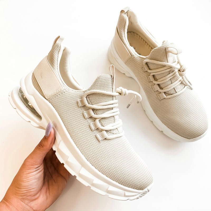 The Farley Sneakers Beige *Final Sale*