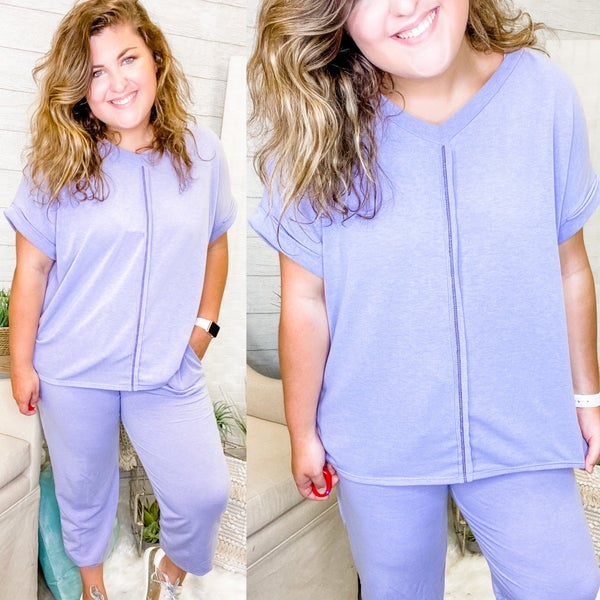 Lilac Or Not Top