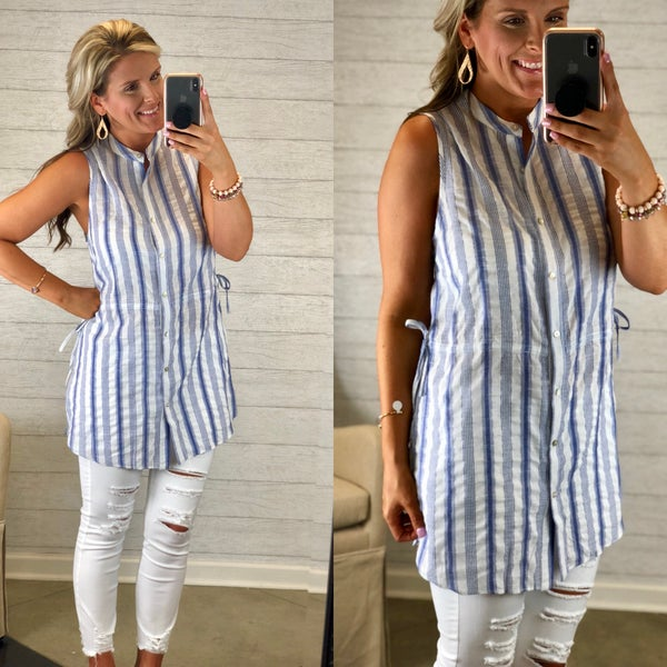 It's Yours Striped Top FINAL SALE