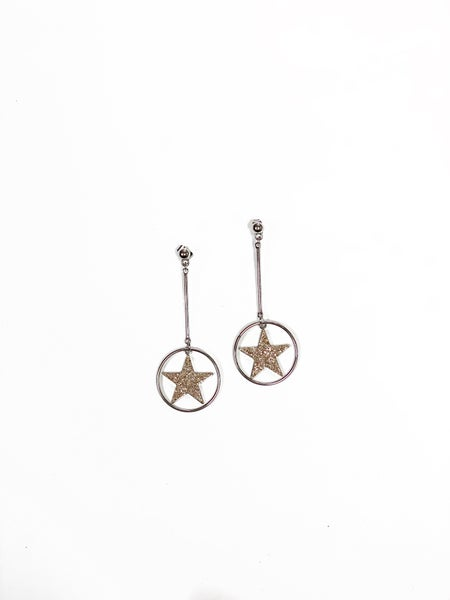 The Hudson Earrings Silver