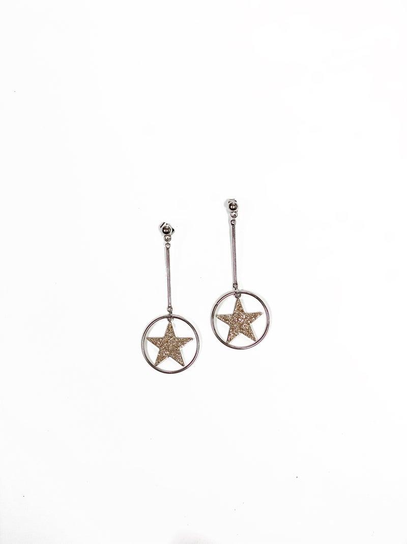 The Hudson Earrings Silver