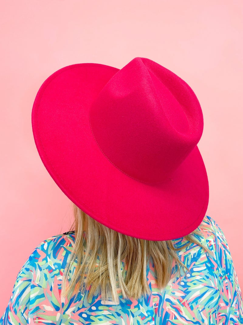 The Marlow Hat Pink