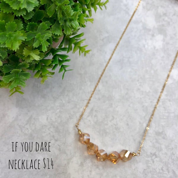 If You Dare Necklace