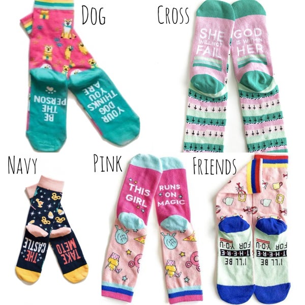 Happy Days Socks