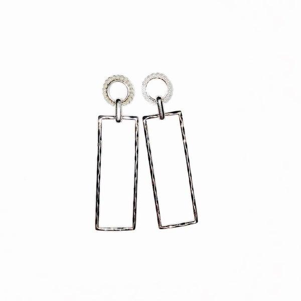 The Asher Earrings Silver