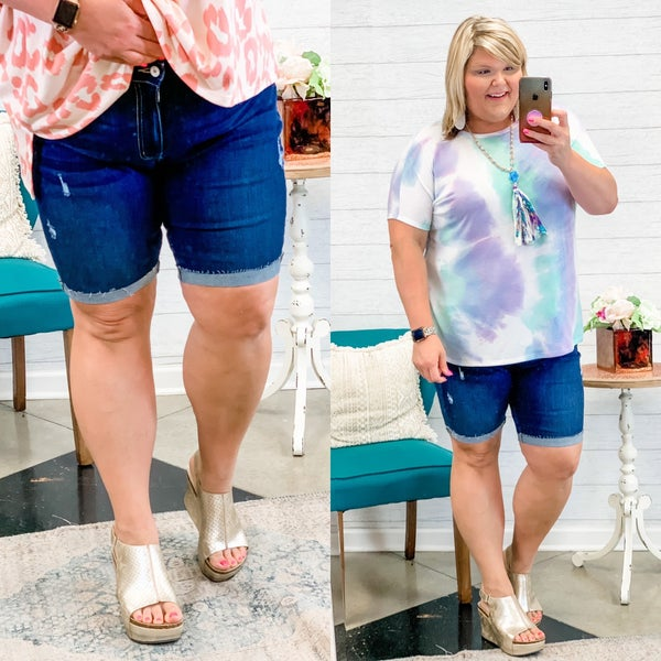 The Lucy Bermuda Shorts Plus