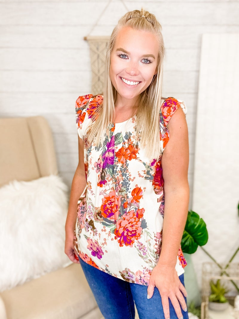 Blossoming Into Spring Top
