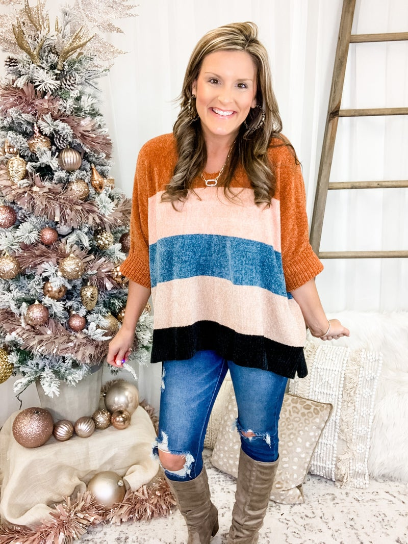 Just About Time Sweater *Final Sale*