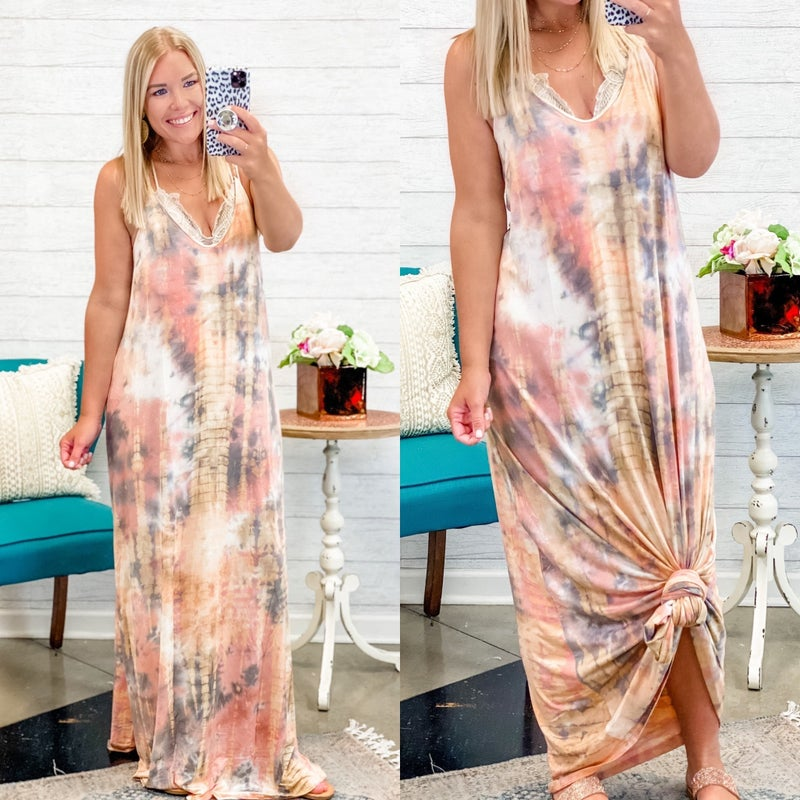 Keep The Vibe Maxi Dress