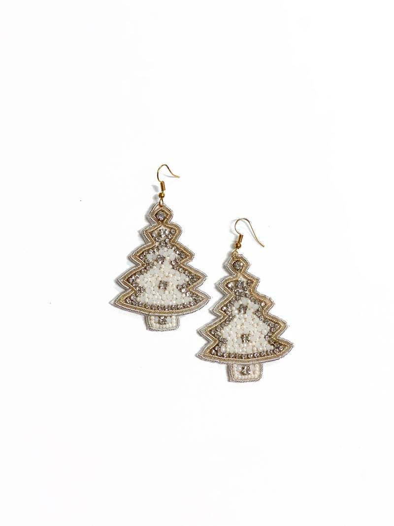 Glitzy Tree Earrings