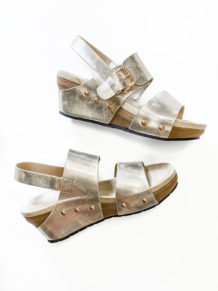 The Cooper Wedge Gold *Final Sale*