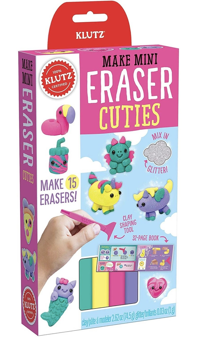 Make Mini Eraser Cuties Kit