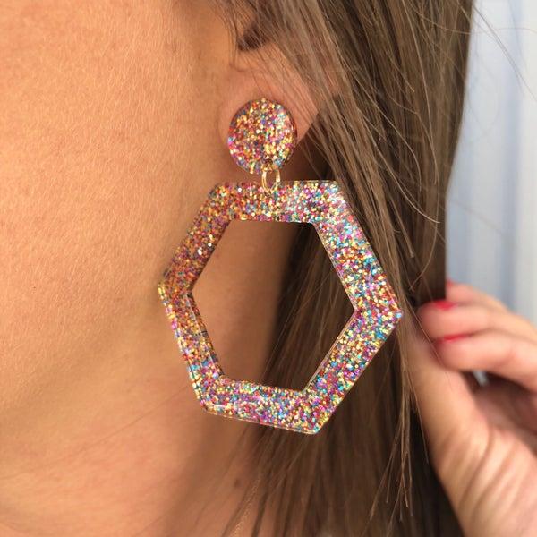 Pop Of Confetti Earrings