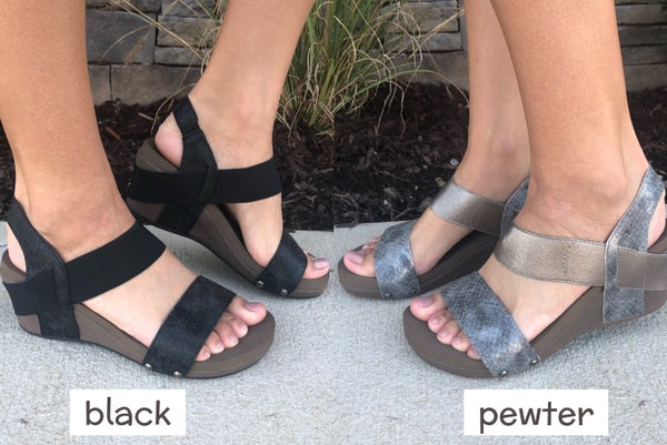 Come With Me Wedge FINAL SALE