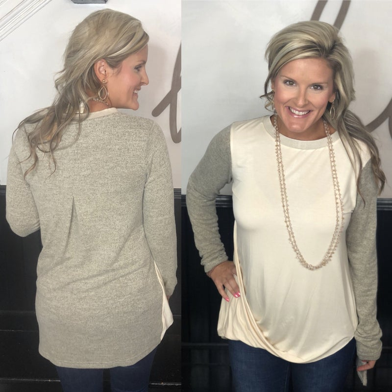 Falling For You Top *Final Sale*