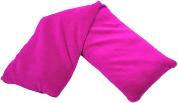 Pink Velvet Warmies Neck Wrap