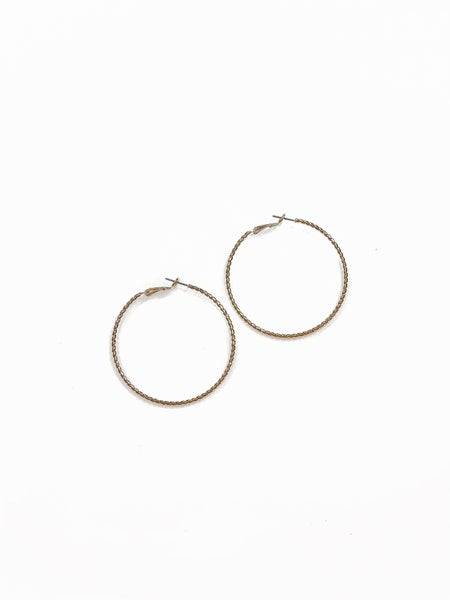The Layla Hoops Gold